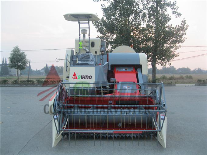 360 Degree Rice Unloading Auger Grain Combine Harvester