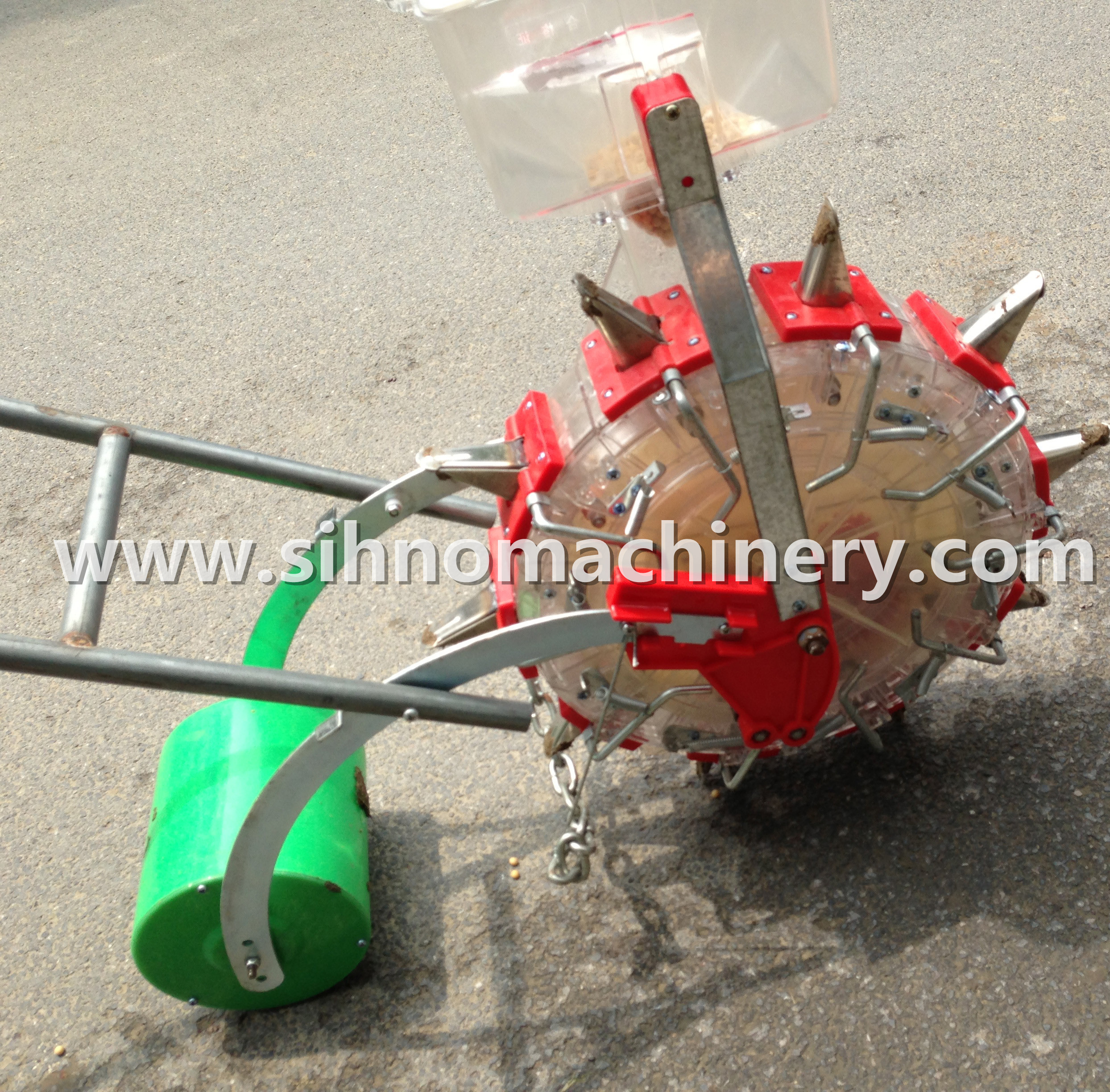 single garden seeder corn planter maize seeder